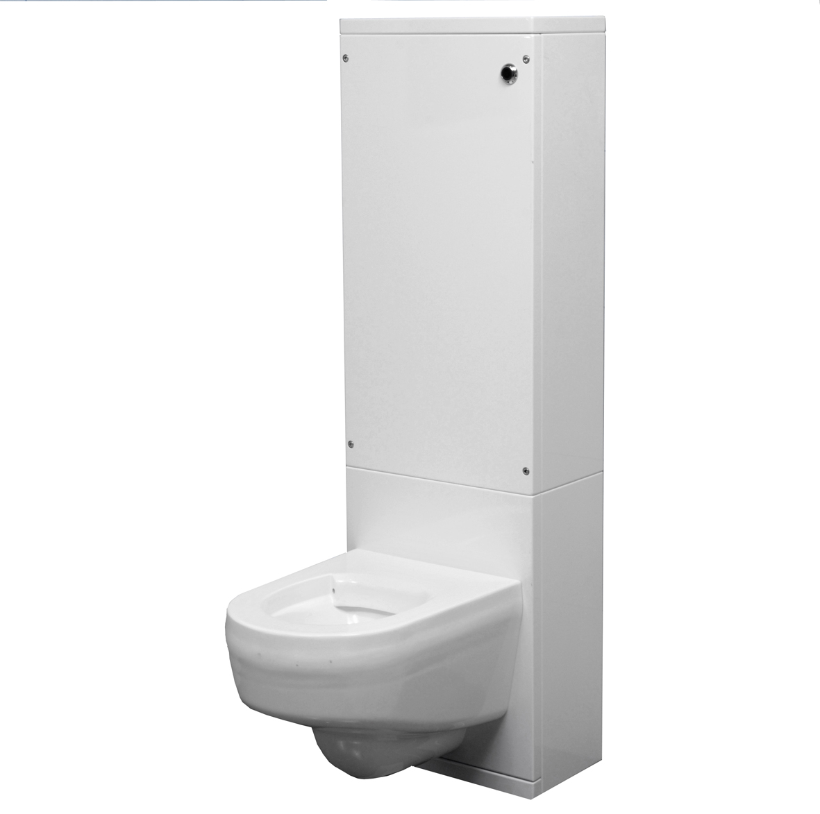 Heno WC modul (Vägg-Plan)