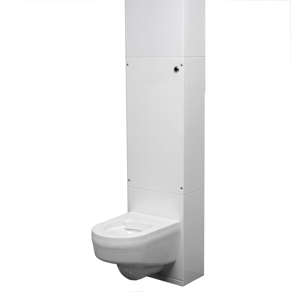 Heno WC modul (Vägg-Hög)