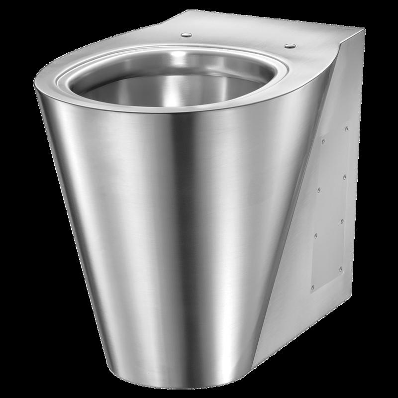 Heno Rostfri WC-stol BCN-G