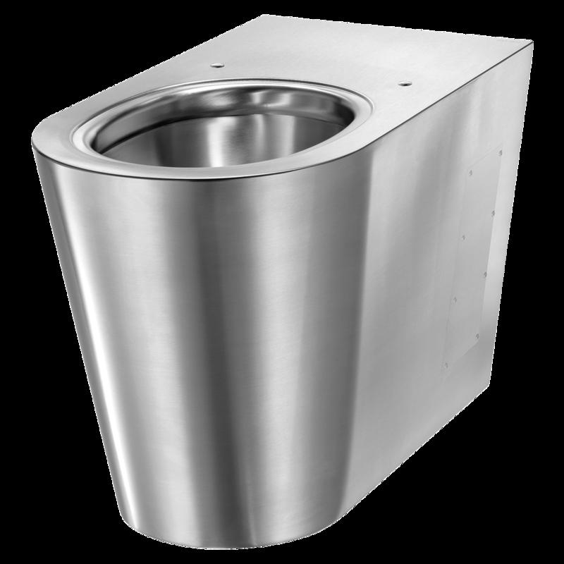 Heno Rostfri WC-stol S21-G