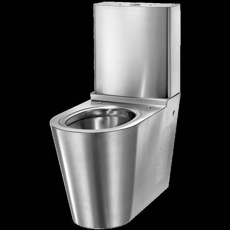 Heno Rostfri WC-Stol S21 m cistern