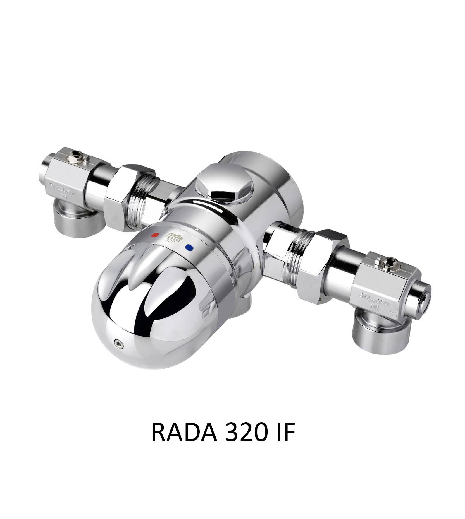 Centralblandare Heno Rada 320 IF m. namn